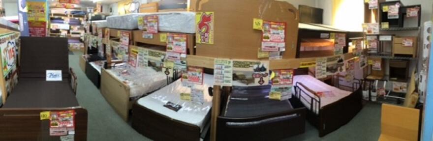 ベッド売場(電動ベッド・折りたたみベッド)